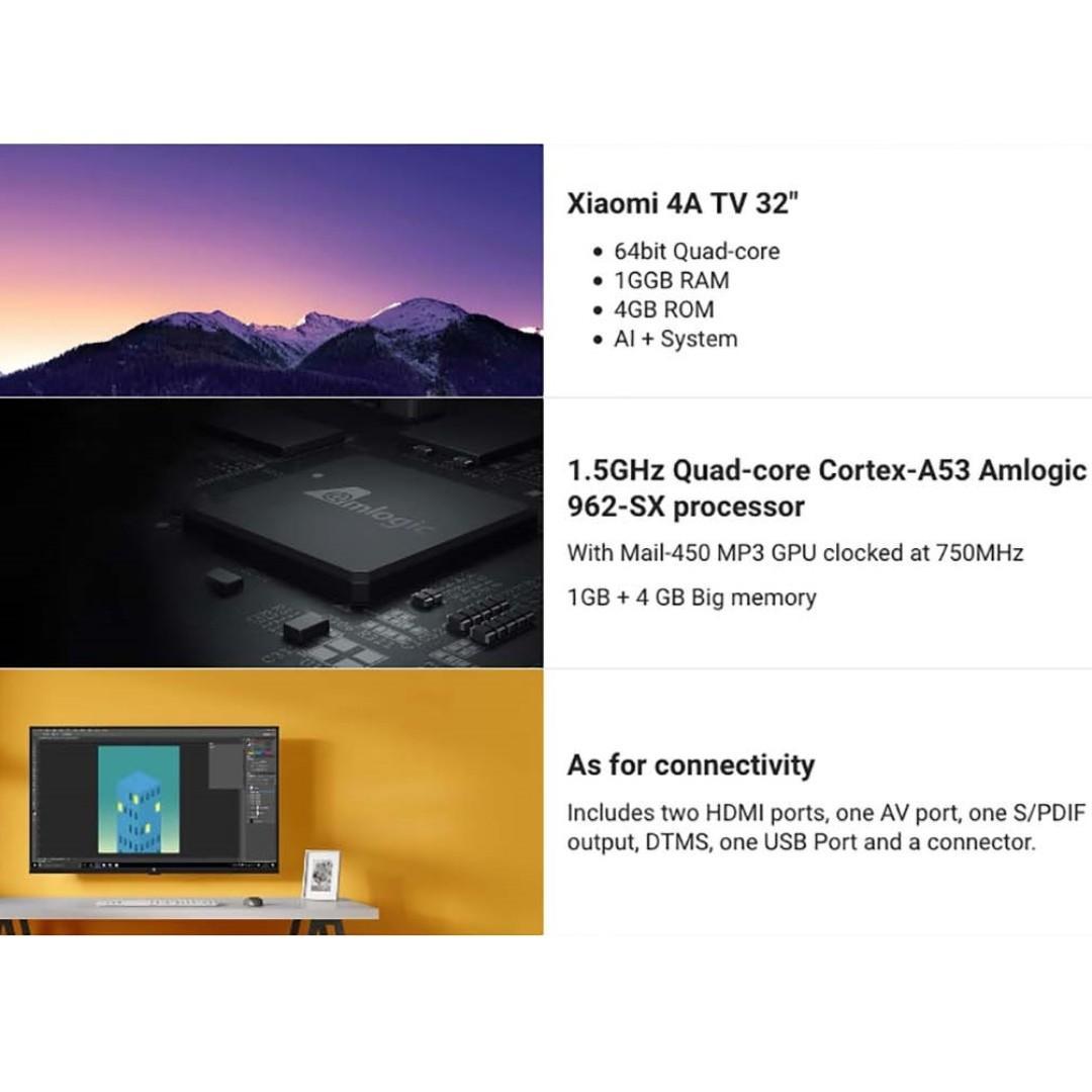 Reserved) [ENGLISH VERSION] Xiaomi Mi TV 4A Series 32 Inch