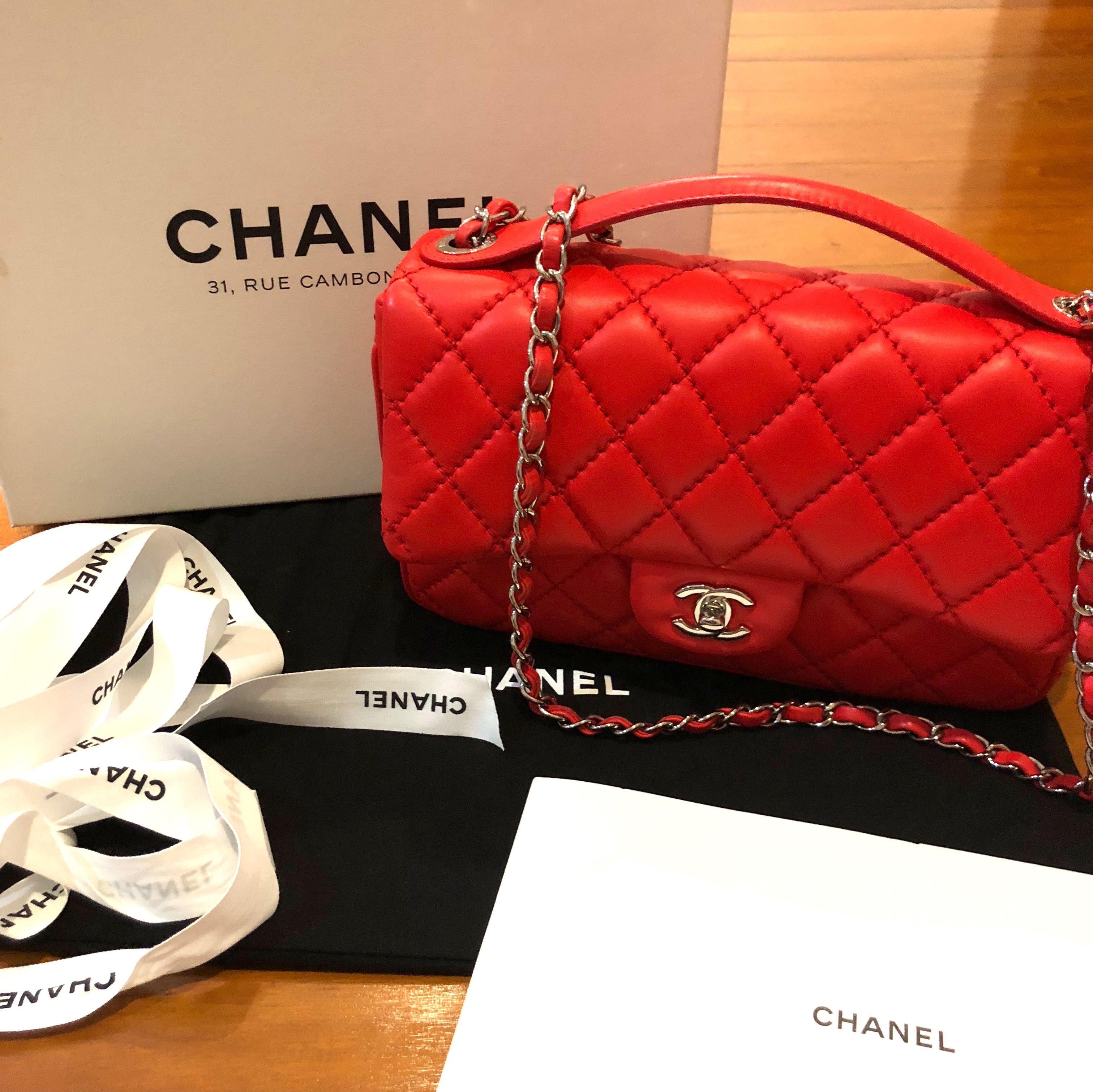🔥FIRE SALE🔥Chanel single flap bag with TOP handle, Luxury, Bags    Wallets, Handbags on Carousell 136c8c66d7
