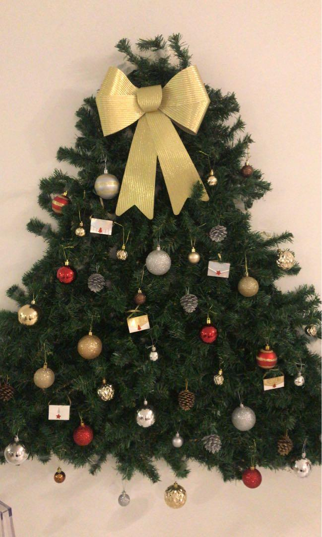 Green Garland For Wall Christmas Tree Design Craft Others On Carousell