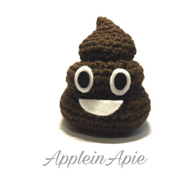 FO] A bit of fun. Amigurumi emoji keychains. : crochet | 640x640