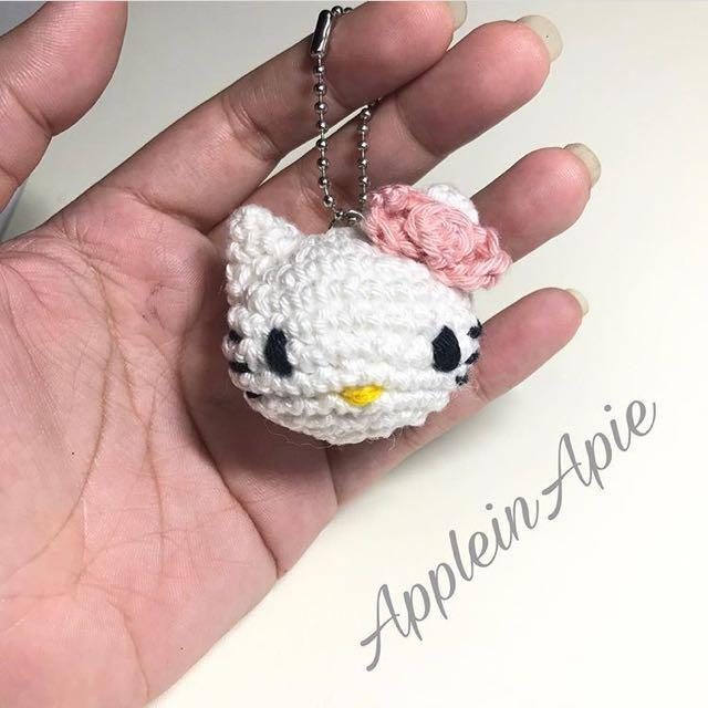 Crochet Amigurumi Hello Kitty [FREE Crochet Pattern] | 640x640