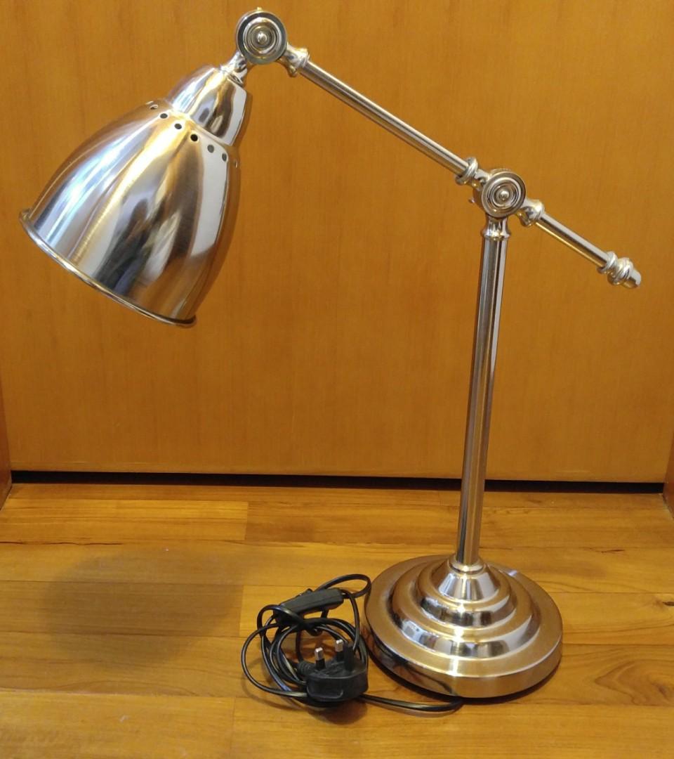 Ikea Barometer work lamp, silver color