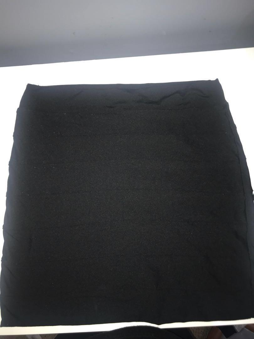 Kookai black bandage skirt