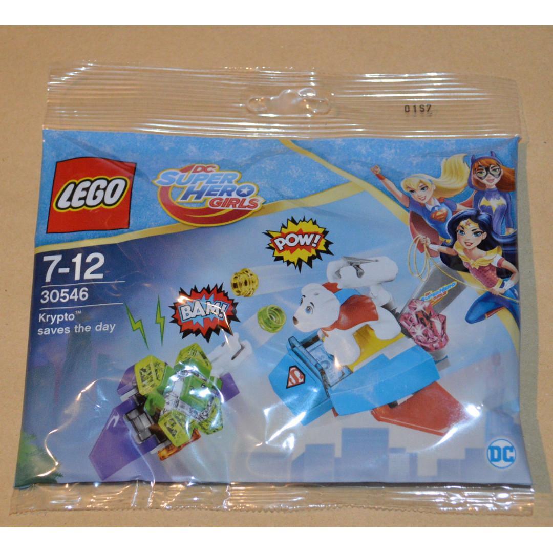 Lego Krypto Saves The Day 30546 DC Super Hero Girls Brand New Sealed Polybag