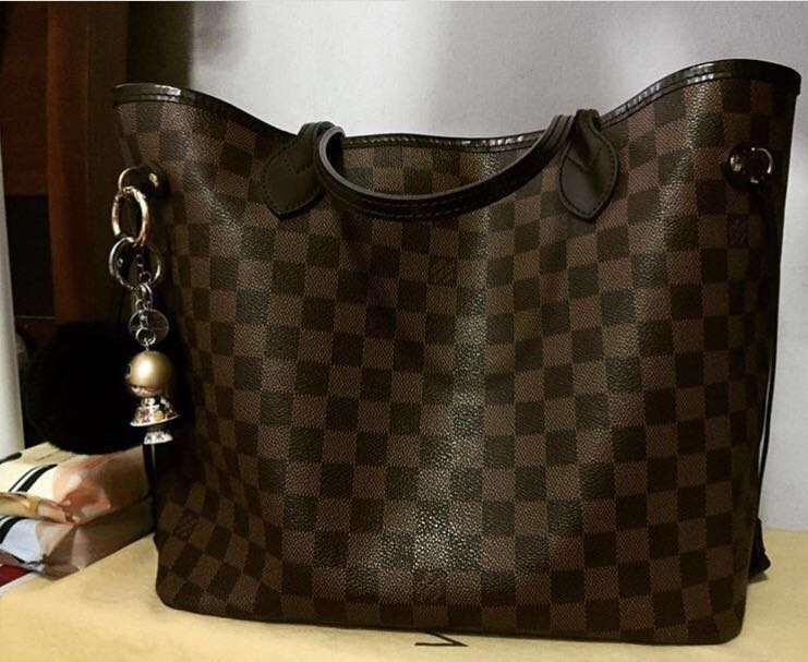 239ab5d13f21 Louis Vuitton Neverfull Bag MM