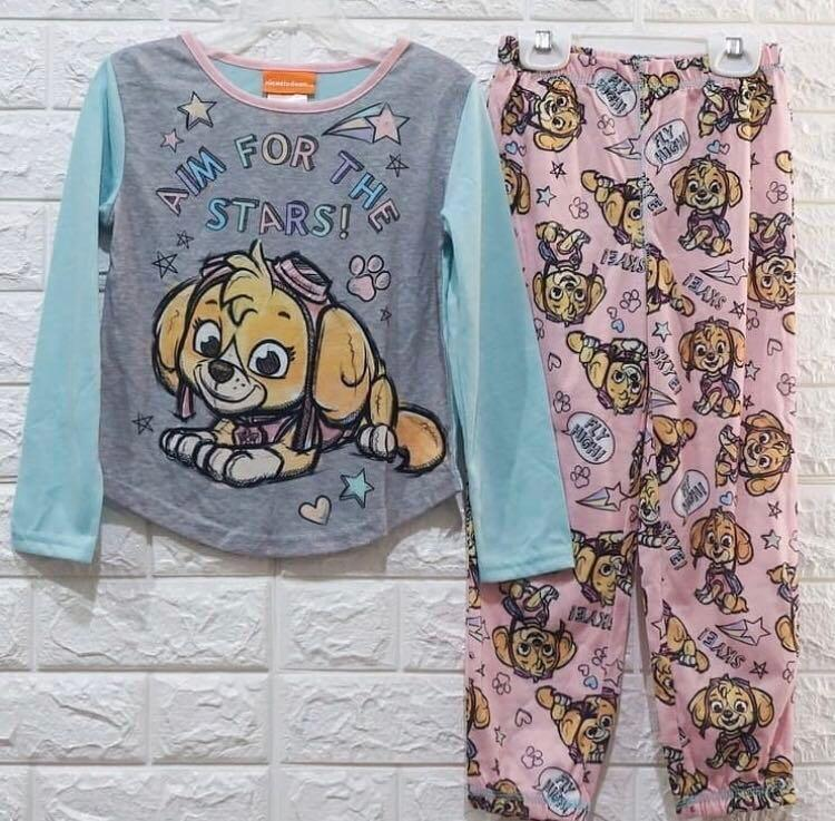Girls Frozen Ladybug Paw Patrol Nightie Nightdress Big T-shirt Pyjama Age 2-8Yrs