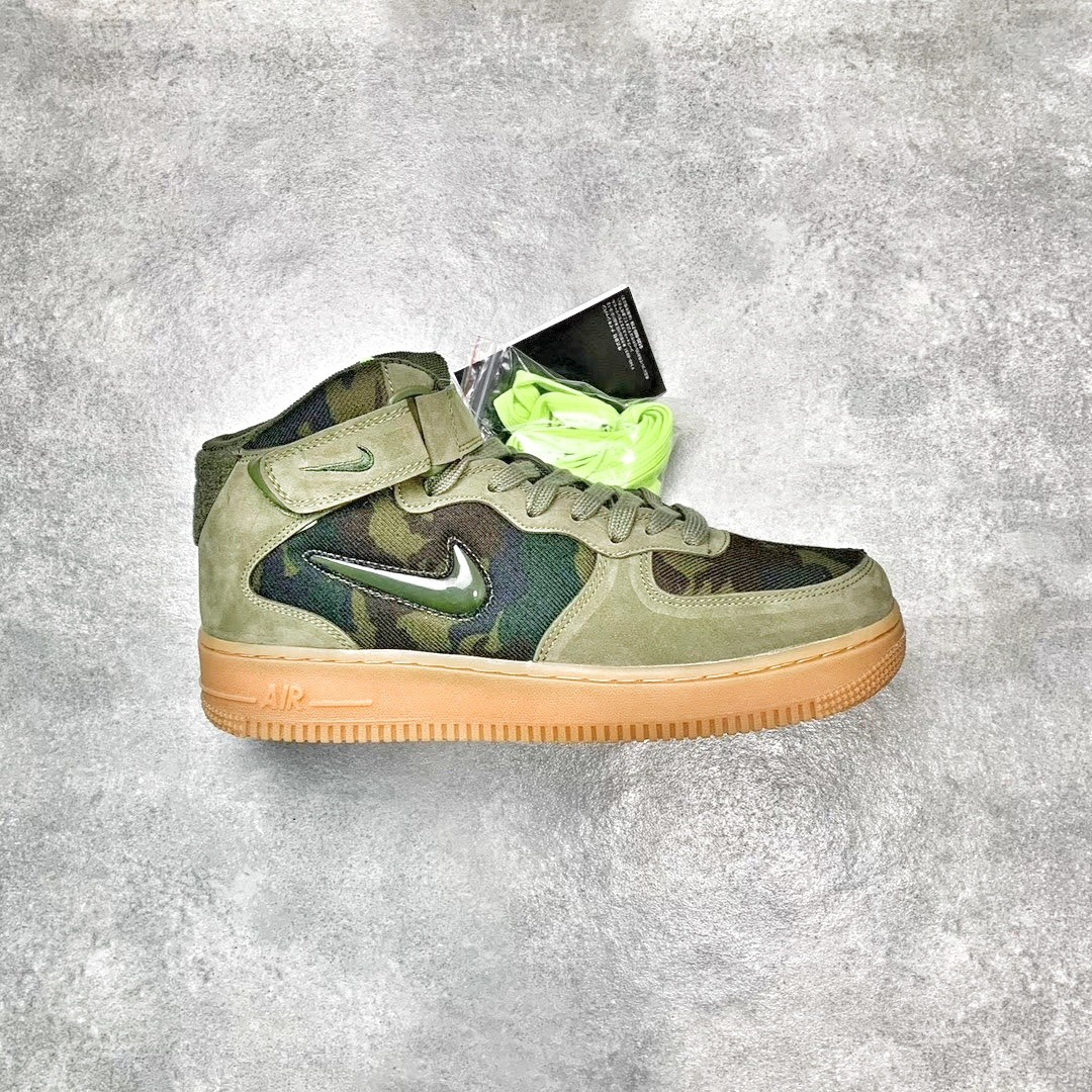 54a1bca31d4eb Nike Air Force 1 Mid Country Camo France, Men's Fashion, Footwear ...