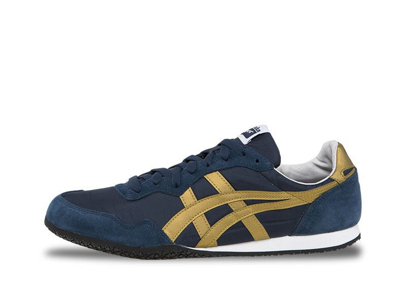 711d592eec99 ONITSUKA TIGER BLUE   GOLD by Asics Serrano