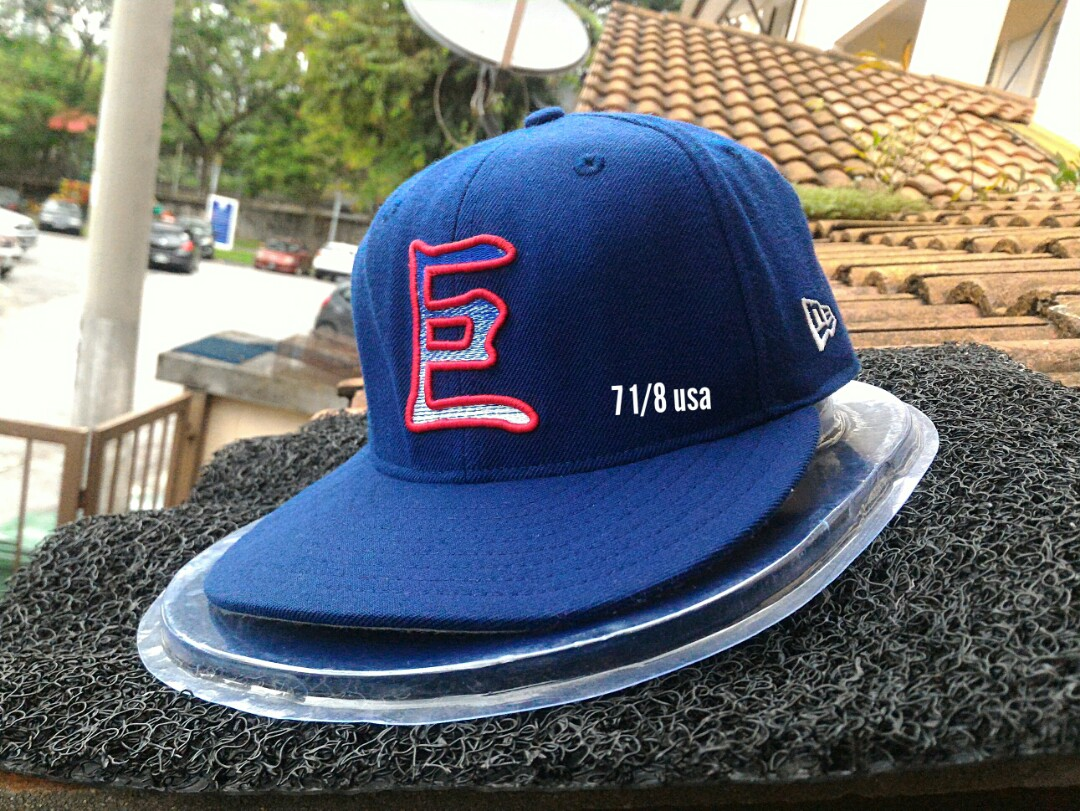 Ori new era fitted 7 1 8 usa cap snapback topi 775f0125b020