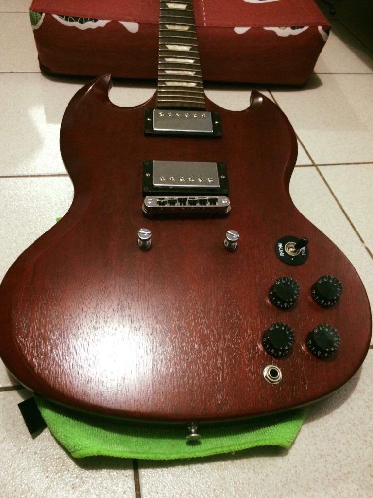 Original Gibson SG 60's Tribute on Carousell