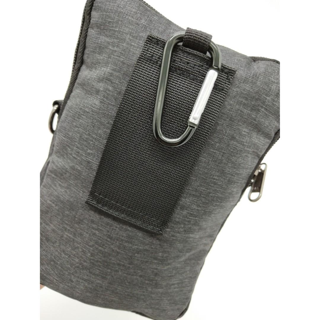 082794080677 ORIGINAL Men Women 3 in 1 Sling Bag Phone Pouch Belt Waist Bag Crossbody Bag