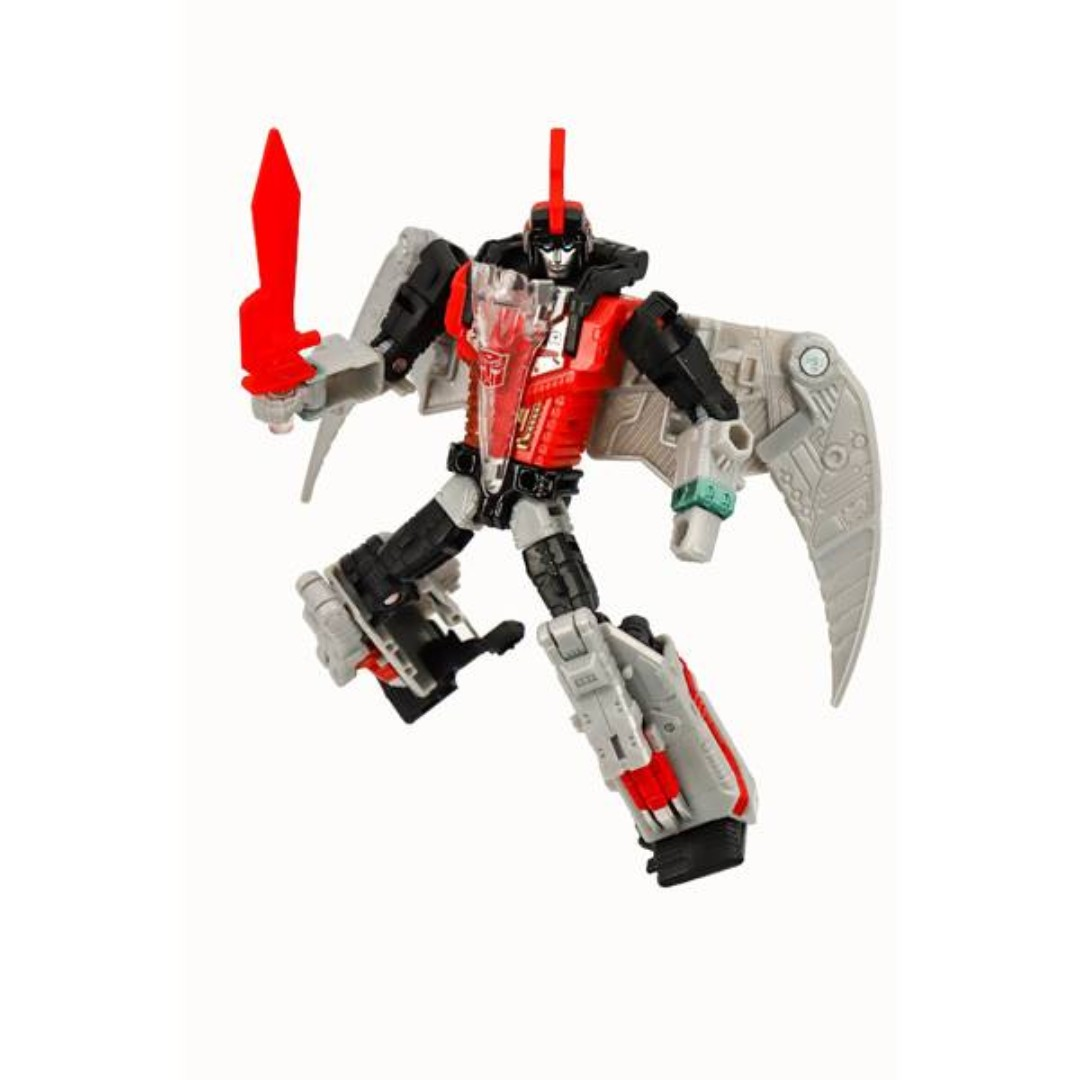 HASBRO TRANSFORMERS GENERATIONS SELECTS POTP DELUXE CLASS DINOBOT RED SWOOP