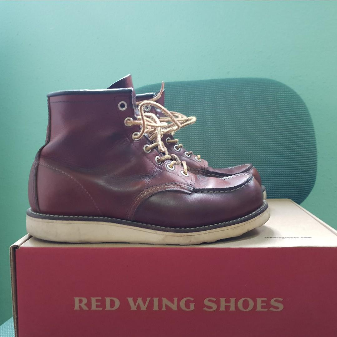 d5b0237e34c Redwing moc toe 875, Men's Fashion, Footwear, Boots on Carousell