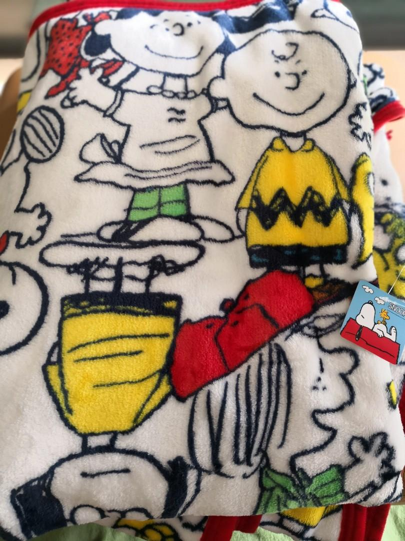 Snoopy big blanket 被-日本正版