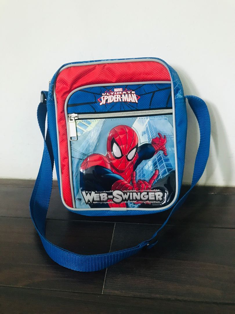 Spider-Man sling bag shoulder bag with adjustable strap 3d0cc3556838e
