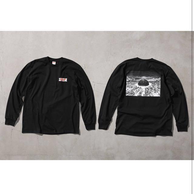 90539eb6c149 Supreme Akira Long Sleeve, Men's Fashion, Clothes, Tops on Carousell