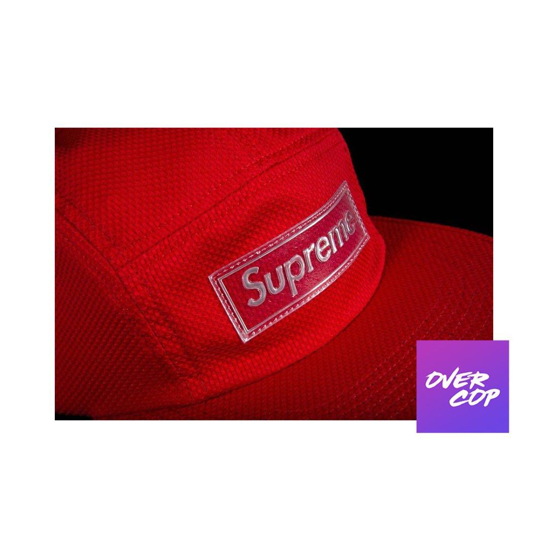 361eb90a Supreme Nylon Pique Camp Cap SS18 W10, Men's Fashion, Accessories ...
