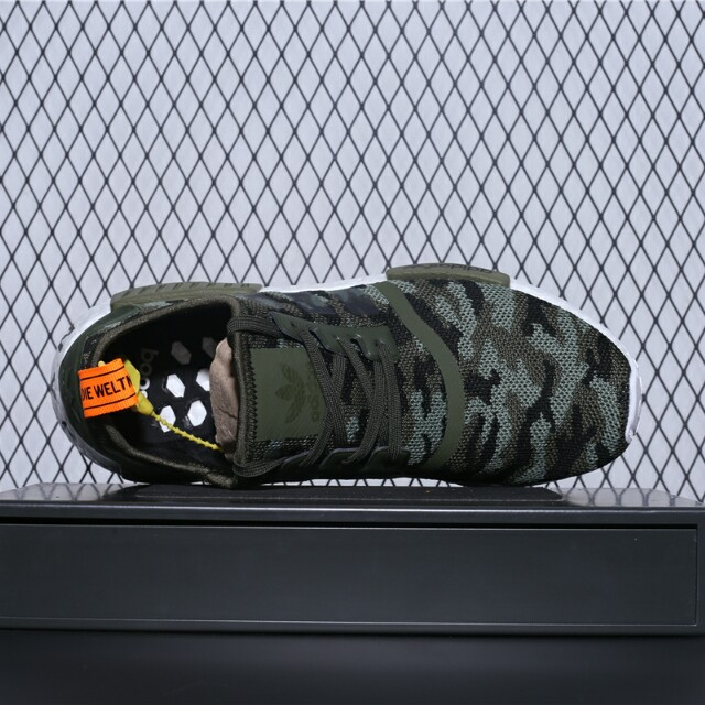 "0b075676aac32 Supreme x Adidas NMD R 1 Boost 系列""SUP軍綠""貨號:G27914"