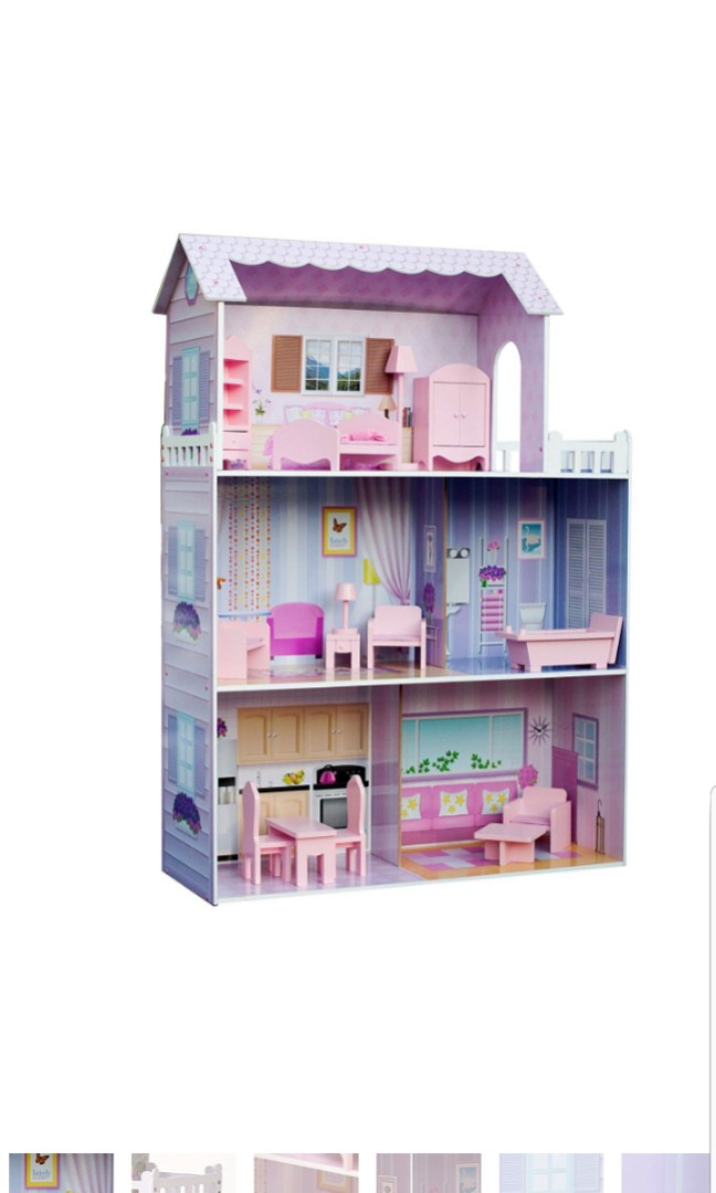 Teamson Kids Wooden Dollhouse Doll House Fancy Mansion 32 00x11