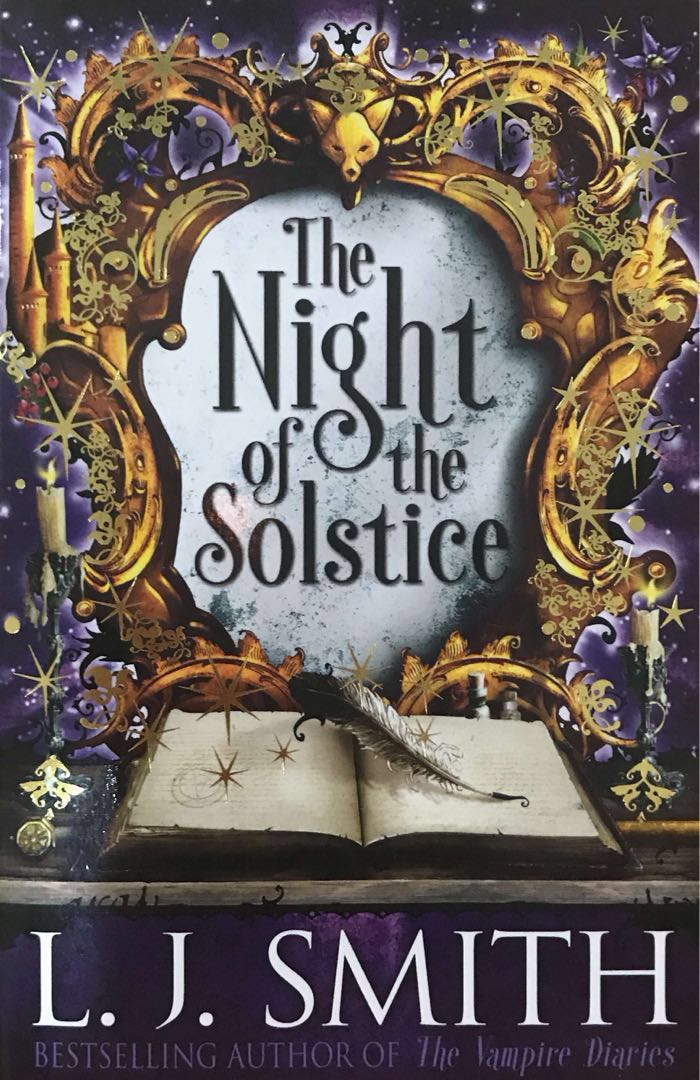 The night of the solstice & Heart of Valor by L J  Smith