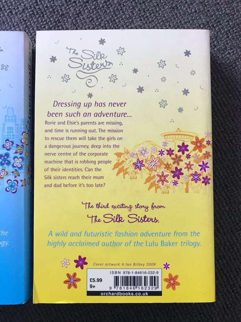 The Silk Sisters trilogy books