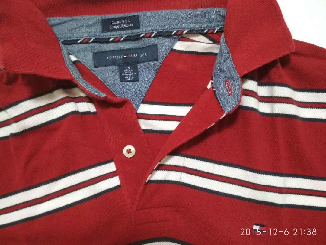 d59f91b0 Tommy Hilfiger Polo Tee, Men's Fashion, Clothes, Tops on Carousell