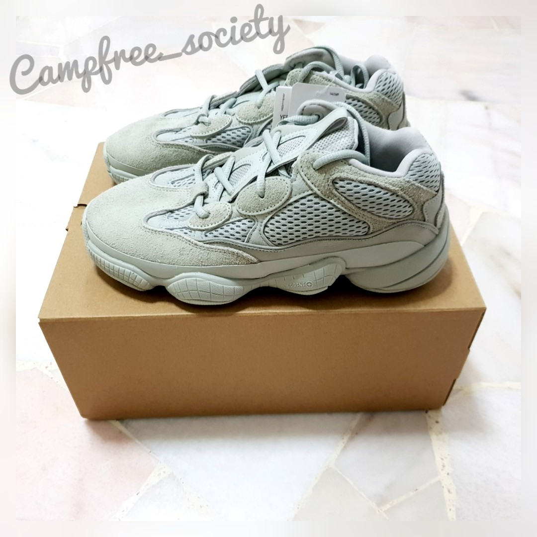 7004950ae9f6e8 UK 6 - Adidas Yeezy Boost 500 Salt