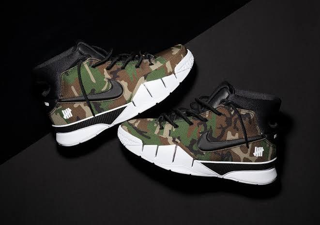 e7efef7ecb48 UNDEFEATED Nike Zoom Kobe 1 Protro
