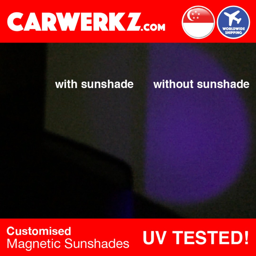 4225e942b99  UV TESTED  FULL SET  BMW X1 2015-2018 2nd Generation (F48) Customised Car  Window Magnetic Sunshades 8 Pieces + Rear Tailgate 1 Piece