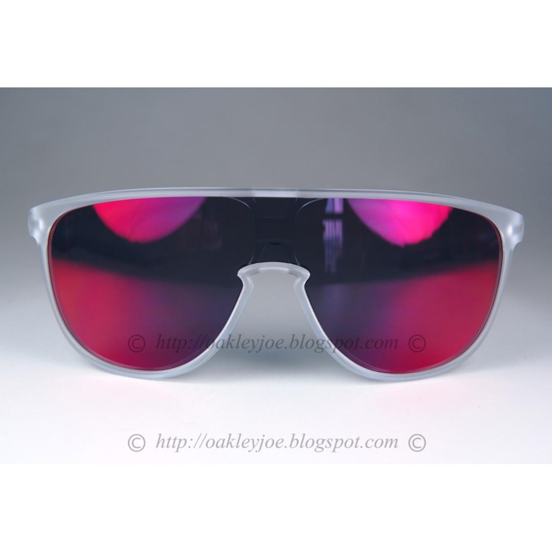 488b5850efbd7 Sale! BNIB Oakley Trillbe matte clear + torch iridium oo9318-03 sunglass  shades
