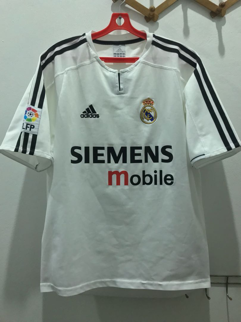 reputable site fde97 99b60 🔥YEAR END SALE🔥 Real Madrid 2003/04 Home Kit