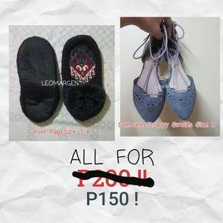 Both shoes for 150 !