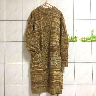 🚚 長版厚針織毛衣