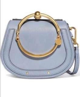 Chloe Nile Bracelet Leather small crossbody bag