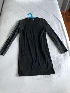 Balenciaga black dress with sleeve details (hardly worn, heavily discounted)