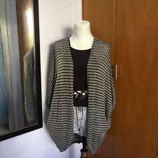 Mossimo Striped Cardigan