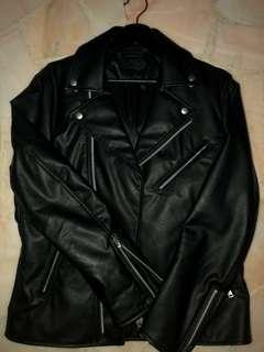 Uniqlo Faux Leather Jacket Size M