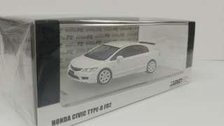1:64 Civic FD2 白色