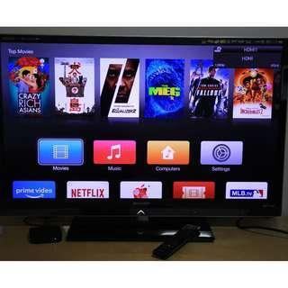 "42"" Full HD TV (Sharp) + Gen 2 Apple TV set"