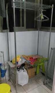 🚚 衣服收納層架