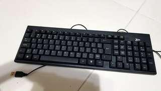 Used computer keyboard