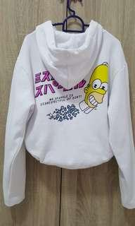 Hoodie jacket sweater | simpsons design