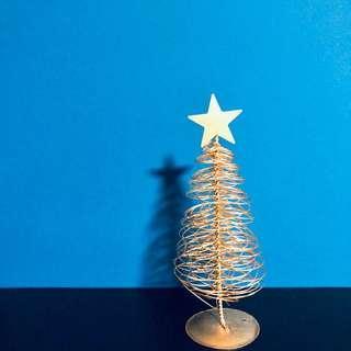 Mini Gold Spiral Christmas Tree