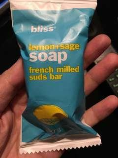 Bliss soap 50g