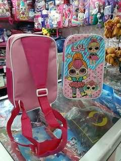 Sling bag anak karakter L.O.L DIJAMIN
