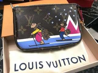 🎄BNIB🎄Louis Vuitton Holiday Edition Mini Pochette Monogram 2018