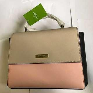 Kate Spade Paterson Court Brynlee Leather Satchel