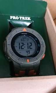 CASIO Protrek 100m Triple sensor, 行貨有單, 新浄, 抵玩價(g-shock citizen frogman seiko nike )