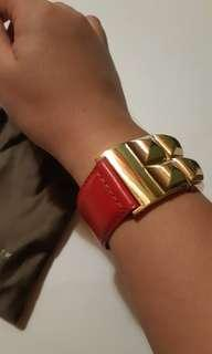 Red Cherry Leather Bracelets