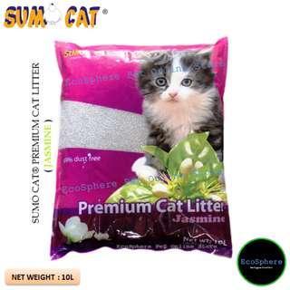 SUMO CAT® Premium Cat Litter (Jasmine) - 10L